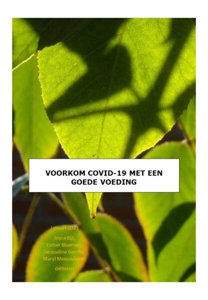 Brochure: Voorkomen van COVID-19 door goede voeding