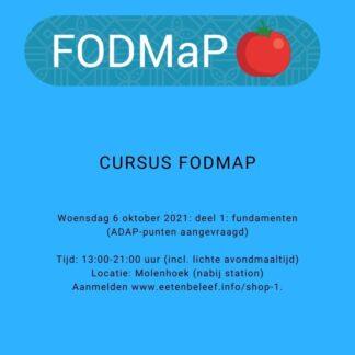 Basiscursus FODMaP-SIBO